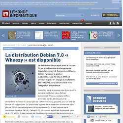La distribution Debian 7.0 « Wheezy » est disponible