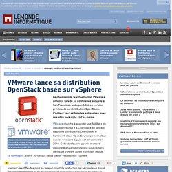 VMware lance sa distribution OpenStack basée sur vSphere