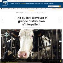 Prix du lait: éleveurs et grande distribution s'interpellent