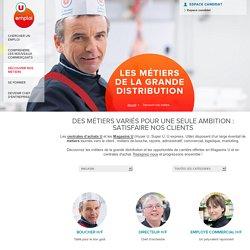 Fiches Métiers Magasins U : commerce, logistique, marketing