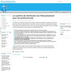 Le système de distribution de l'iPa