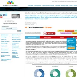 Advanced Distribution Management System Market by Software & Service - 2021