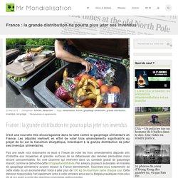 France : la grande distribution ne pourra plus jeter ses invendus