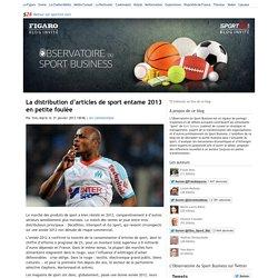 La distribution d'articles de sport entame 2013 en petite foulée - L'Observatoire du sport business