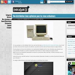 Linux optimisée pour les vieux ordinateurs