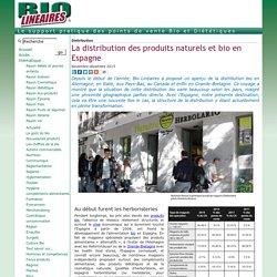 La distribution des produits naturels et bio en Espagne