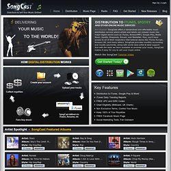 SongCast - Music Distribution