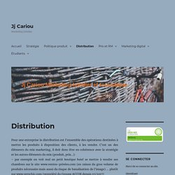 stratégie de distribution en hôtellerie restauration et canaux de distribution