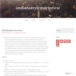Distribution Services – indianservicesectoricsi