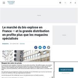Le marché du bio explose en France — et la grande distribution en profite plus que les magasins spécialisés