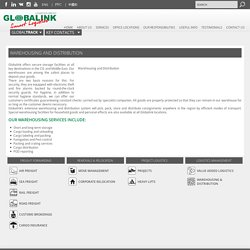 Warehousing and Distribution « Globalink Transportation and Logistics Worldwide