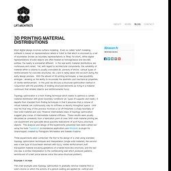 Printing MaterialDistributions