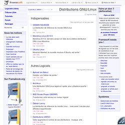 Distributions GNU/Linux