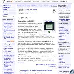 Open SuSE - Distributions GNU/Linux