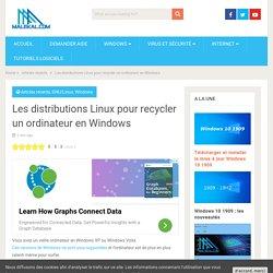 Les distributions Linux pour recycler un ordinateur en Windows