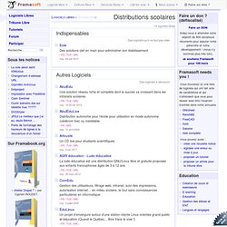 Distributions scolaires