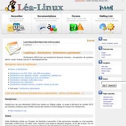Logithèque:Distributions spécialisées - Lea Linux