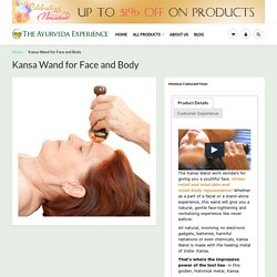 Kansa Wand for Face and Body - Official UK / Europe Distributor – Experience Ayurveda