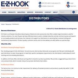 Distributors - E-Z-Hook, A Division of Tektest, Inc.