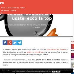 Le distribuzioni Linux più usate: ecco la top ten