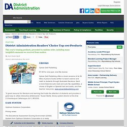 District Administration Readers' Choice Top 100 Products