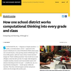 How one school district works computational thinking into every grade and class