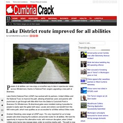 Lake District route improved for all abilities