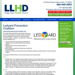 Ledge Light Health District - Ledyard Prevention Coalition