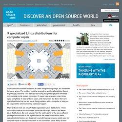 Top Linux distros for computer repair