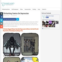 7 Disturbing Comics on DepressionRelationship Surgery