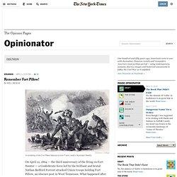 DISUNION - Opinionator