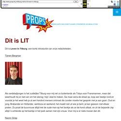 Dit is LIT: Leven In Tilburg