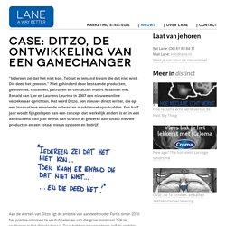 Case: Ditzo, de ontwikkeling van een gamechanger