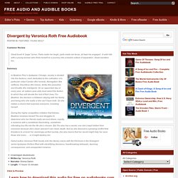 Divergent by Veronica Roth Unabridged (Audiobook)