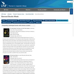 Diverse Banned Books - Banned Books Week - LibGuides at University of North Florida
