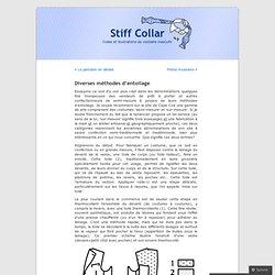 Diverses méthodes d'entoilage | Stiff Collar
