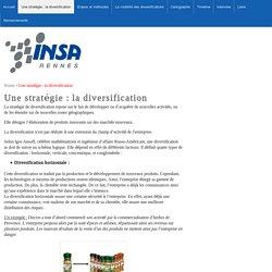 Une stratégie : la diversification