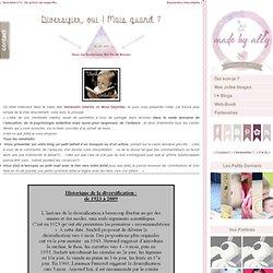 Poupouce, Doudou and Co… » Ma Vie de Maman » Diversifier, oui ! Mais quand ?