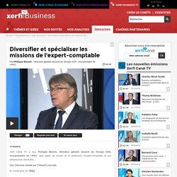 Philippe Bonnin, IFEC - Diversifier et spécialiser les missions de l'expert-comptable