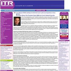 Les attaques DDoS, tactique de diversion pour cyber-escroqueries en tous genres,Par Adrian Bisaz, Vice President Sales EMEA de Corero Network Security
