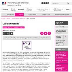Label Diversité - Développement de l'emploi