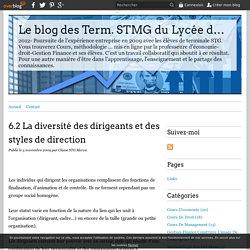 La diversité des dirigeants et des styles de direction - blog STMG