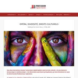 Opéra, diversité, droits culturels