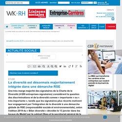 Etude - La diversité est désormais majoritairement intégrée dans une démarche RSE - Liaisons-sociales.fr