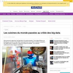 SCIENCES ET AVENIR 14/11/16 Les cuisines du monde passées au crible des big data