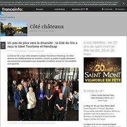 Un Pas De Plus Vers La Diversité : La Cité Du Vin A Reçu Le Label Tourisme Et Handicap