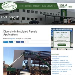Diversity in Insulated Panels Applications