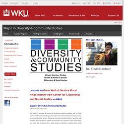 Diversity & Community Studies