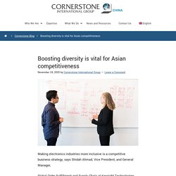 Boosting Diversity Is Vital For Asian Competitiveness