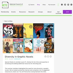 Diversity in Graphic Novels